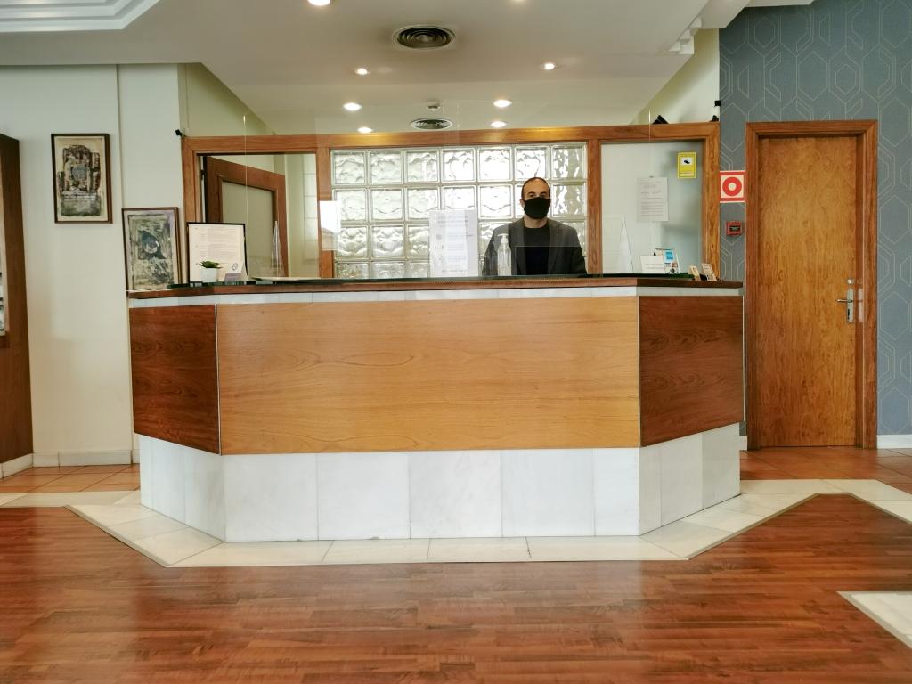 Recepció Hotel J.Balmes Vic